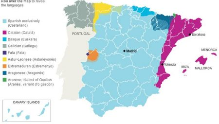 Диалекты испанского языка