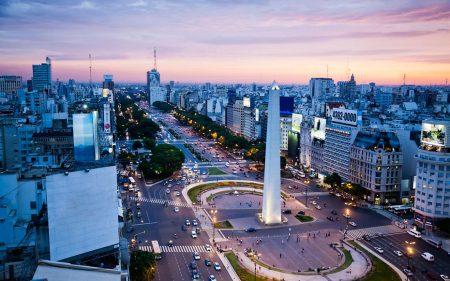 столица Аргентины - Буэнос-Айресе