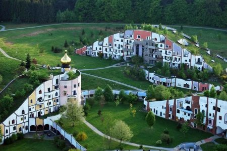 австрийская деревня Бад Блюмау Штирия