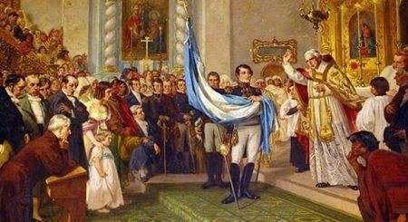 Флаг, герб и гимн Аргентины