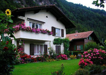 домик в деревушке Австрии