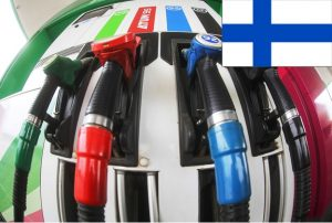 Цена на бензин в Финляндии