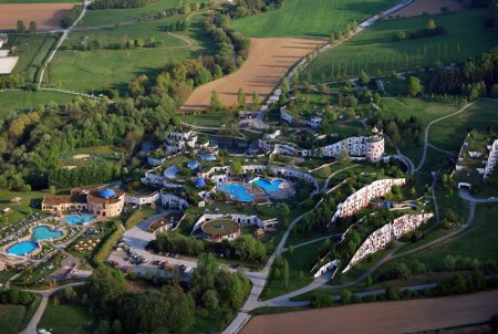 Деревня Бад Блюмау Штирия в Австрии