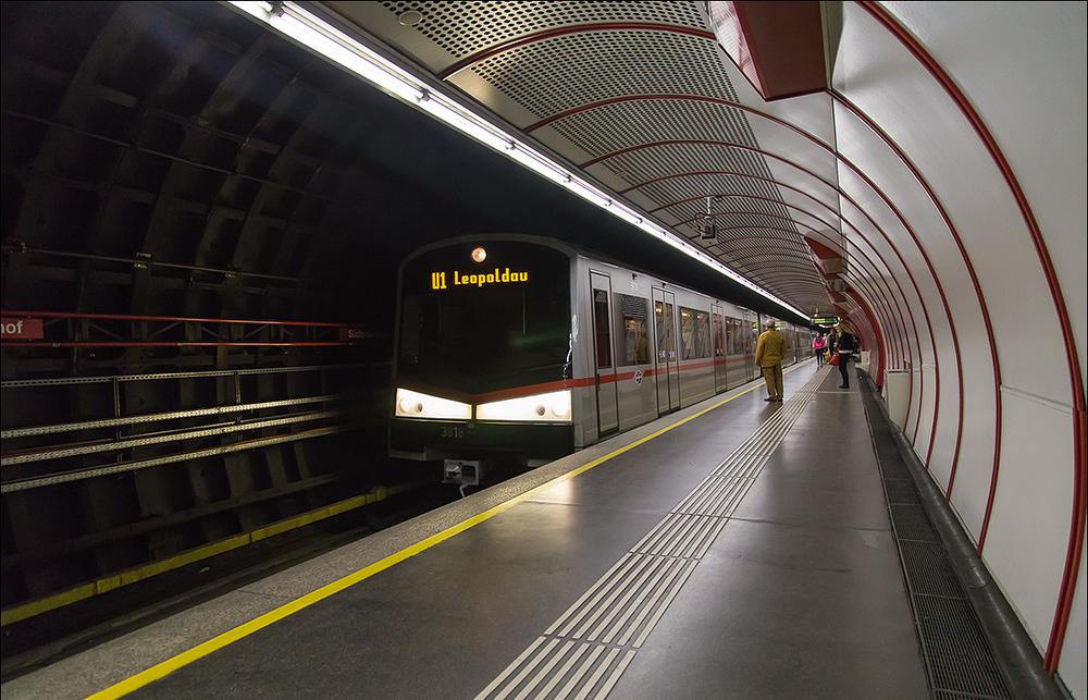 Метро в Австрии в Вене