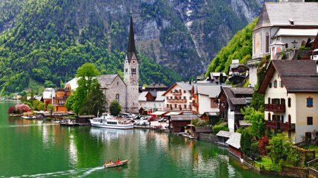 австрийская деревня Гальштат