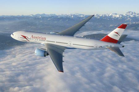 самолет австрийской авиакомпании