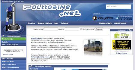 сайт Polttoaine.net