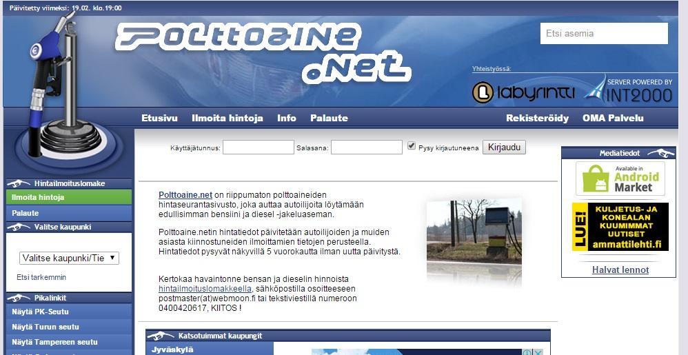 Polttoaine Net