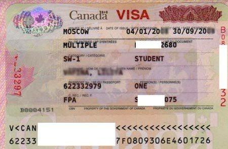 студенческая виза в Канаду
