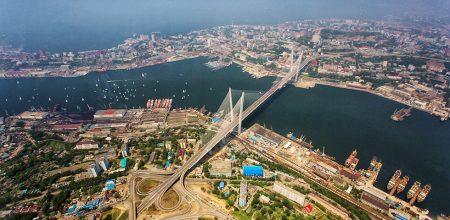 Вантовый мост во Владивостоке