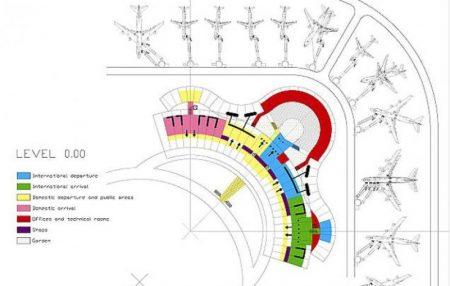 Аэропорт Гоа: схема нового терминала