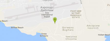 Аэропорт Даболим на карте