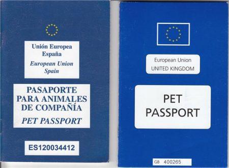 Европейский ветеринарный паспорт