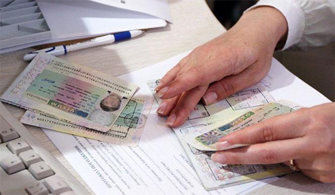 Перенос визы в новый документ