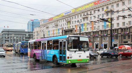 автобусы в Челябинске