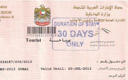 Виза Дубаи