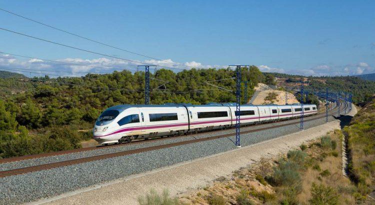 Скоростной поезд в Барселоне
