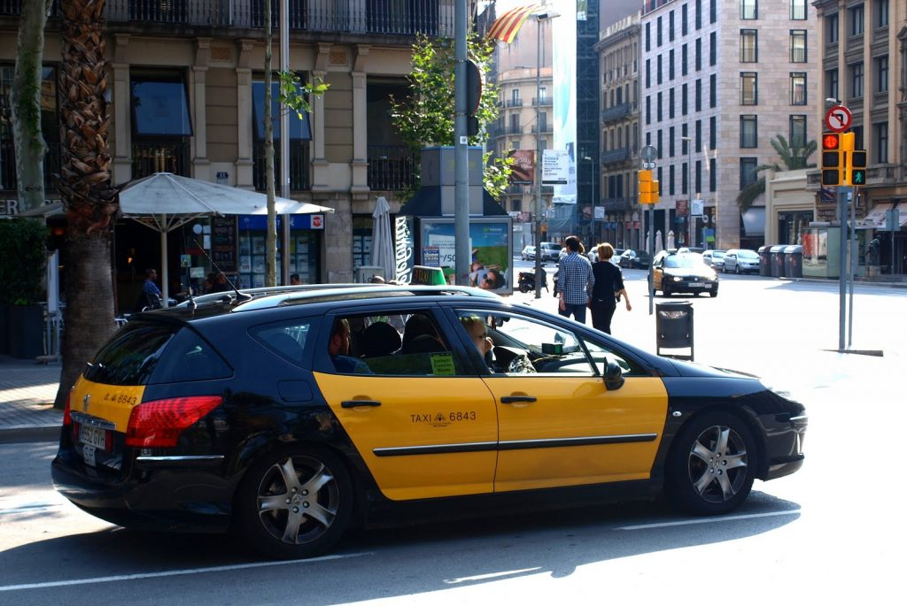 Такси Барселона