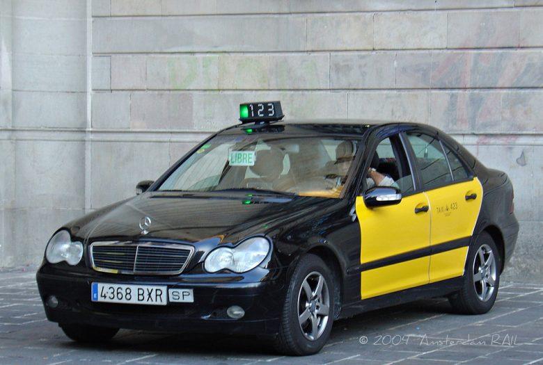 Такси класса premium в Барселоне