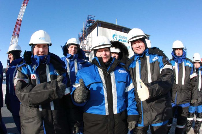 вахта в Газпроме