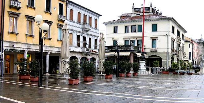 Район Местре в Венеции