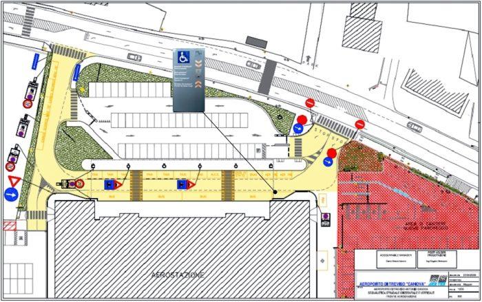 Схема аэропорта Тревизо