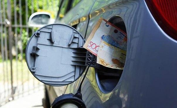 Повышение цен на бензин в Казахстане