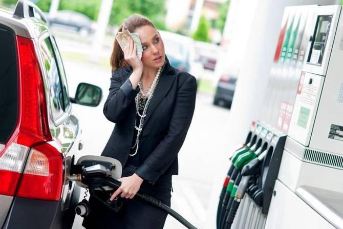 бензин на украине