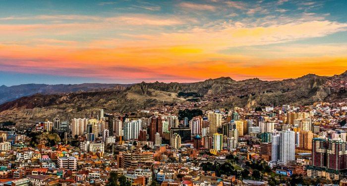 столица Боливии - Ла Пас