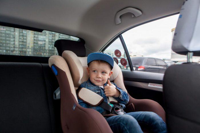 Дети в такси