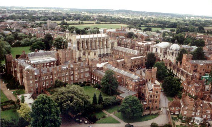 Итон Колледж в Англии
