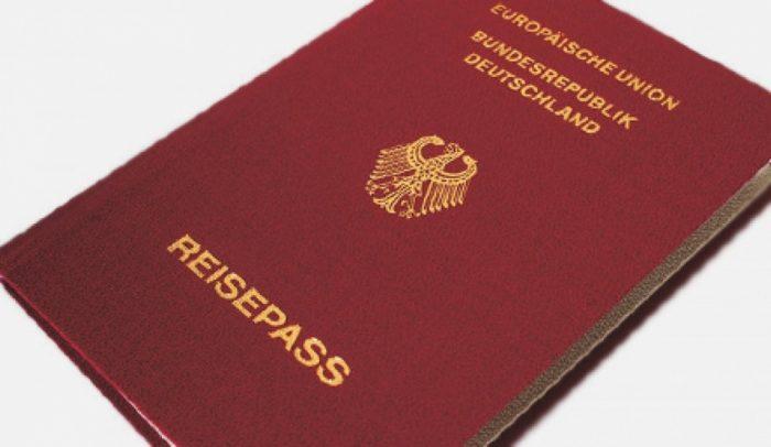 Биометрический паспорт Германии