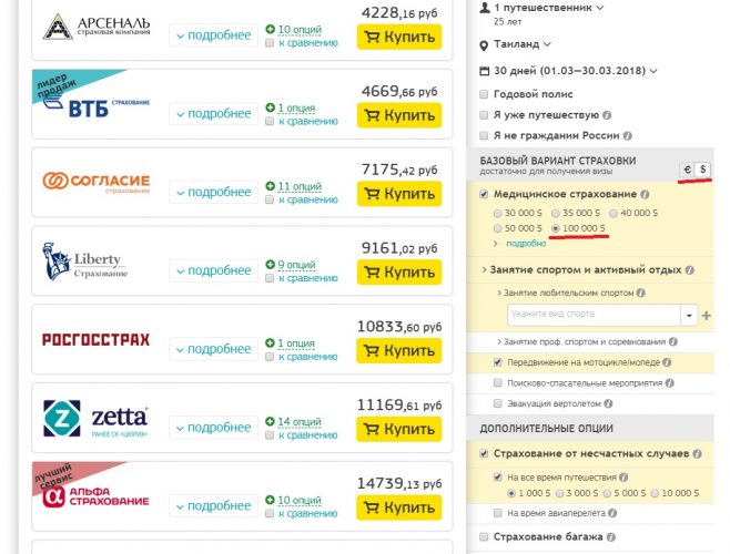 Страховка для выезда за границу, онлайн сравнение цен Страховка для выезда за границу, онлайн сравнение цен