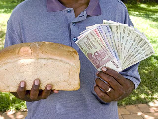 Инфляция в Республике Зимбабве