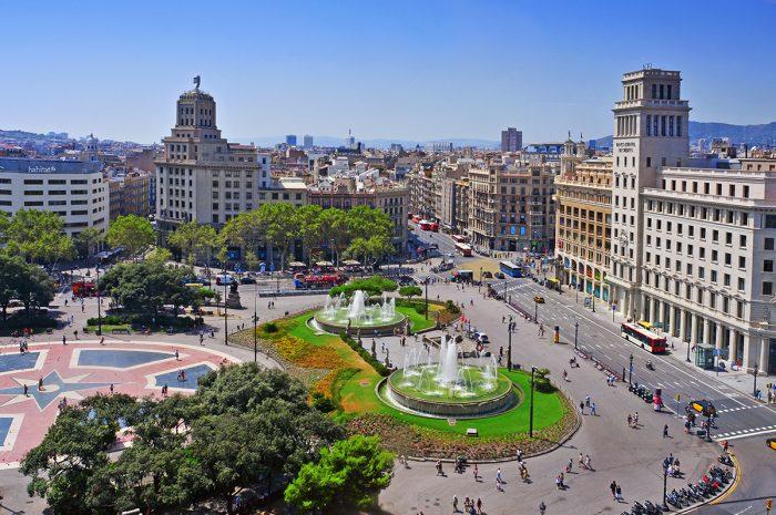 Площадь в Каталонии