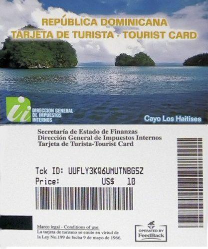 туристическая карта Доминиканской Республики