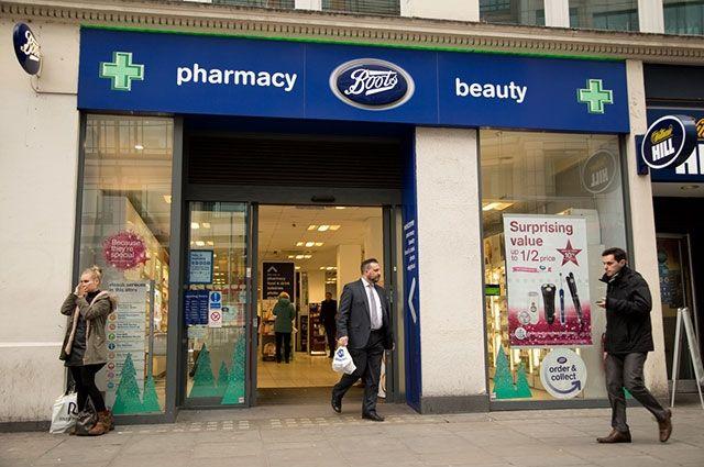 Одна из аптек в Британии