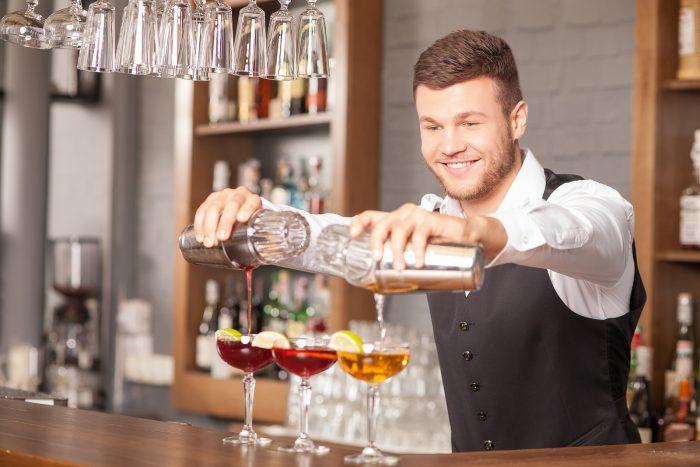 Работа бармена
