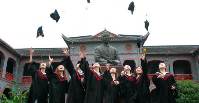 выпускники вуза в Китае
