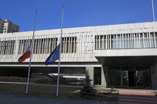 Здание посольства Польши