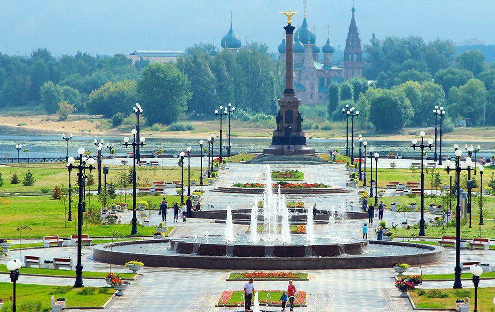 Парк в Ярославле