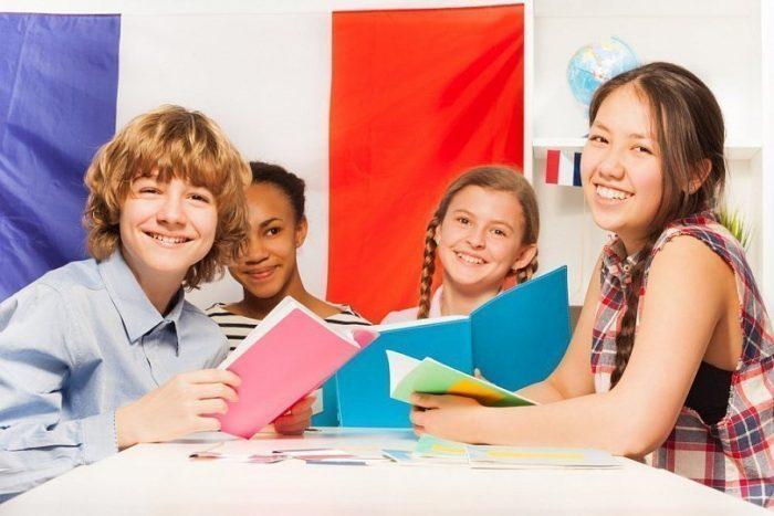 учащиеся дети во Франции