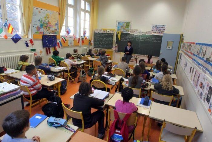 французская начальная школа