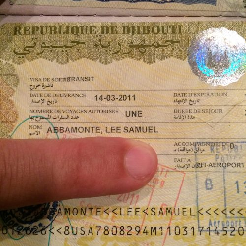 Виза в Джибути для россиян