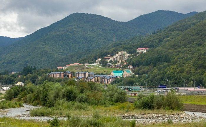 Поселок Красная Поляна