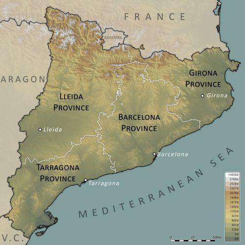 провинций Каталонии