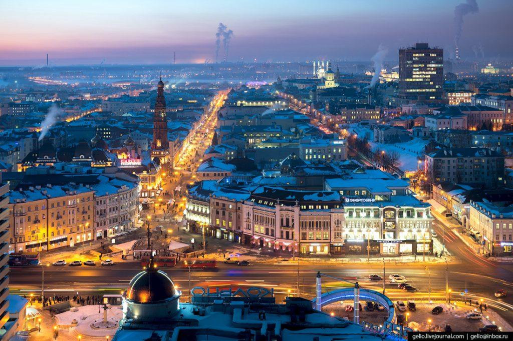 Казань в 2018