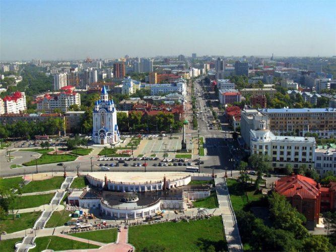 Виды Хабаровска