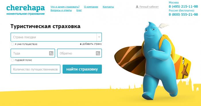 сервис Cherehapa.ru