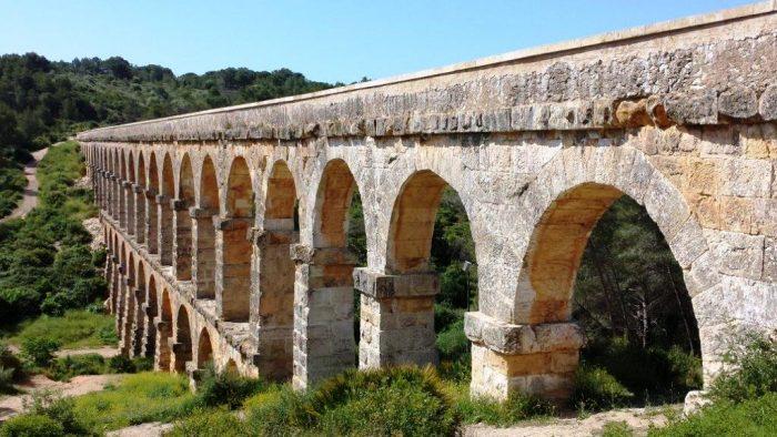 двухуровневый акведук в Таррагоне